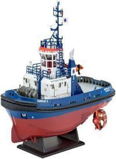 Revell Revell Maket 1:144 Harbour Tug Fairplay Renkli
